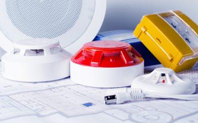 protectors Sicherheitstechnik Brandmelder Rauchmelder und Brandmeldesystem für Feuer und Rauch mit Alarmempfangsstelle